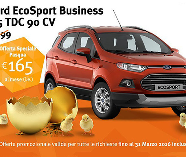 FORD ECOSPORT 1.5 Tdci 95cv Business